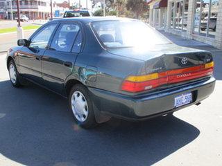 1998 Toyota Corolla AE102R 4D Sedna Conquest Green 4 Speed Automatic Sedan.