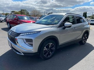 2020 Mitsubishi Eclipse Cross YB MY21 LS 2WD Silver 8 Speed Constant Variable Wagon