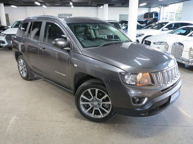 Used Jeep Compass MK MY15 Limited Albion, 2015 Jeep Compass MK MY15 Limited Grey 6 Speed Sports Automatic Wagon