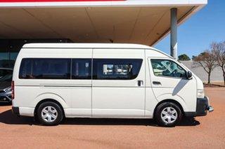2012 Toyota HiAce KDH221R MY11 Super LWB White 4 Speed Automatic Van
