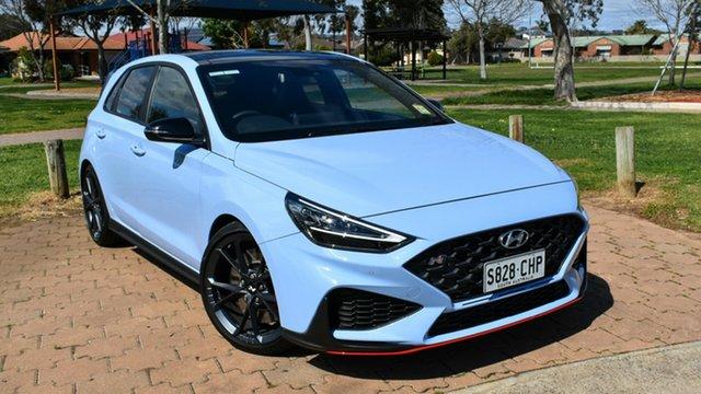 Demo Hyundai i30 Pde.v4 MY22 N D-CT Premium Ingle Farm, 2021 Hyundai i30 Pde.v4 MY22 N D-CT Premium Performance Blue 8 Speed Sports Automatic Dual Clutch