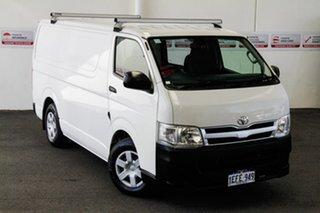 2013 Toyota HiAce KDH201R MY12 Upgrade LWB French Vanilla 5 Speed Manual Van.