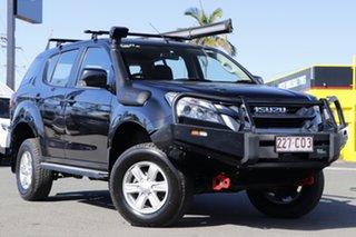 2016 Isuzu MU-X MY15 LS-U Rev-Tronic Cosmic Black 5 Speed Sports Automatic Wagon.