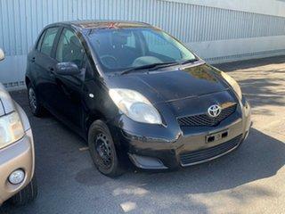 2011 Toyota Yaris Black Automatic.