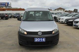 2014 Volkswagen Caddy 2KN MY15 TSI160 SWB Silver 5 Speed Manual Van
