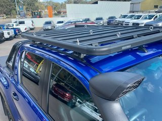 2019 Toyota Hilux GUN126R Rugged X Double Cab Blue 6 Speed Sports Automatic Utility