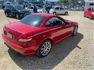2005 Mercedes-Benz SLK350 R171 Red 7 Speed Automatic G-Tronic Convertible