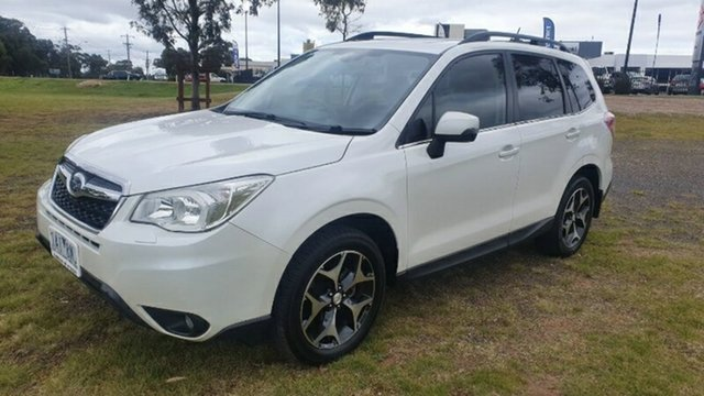 Used Subaru Forester S4 MY13 2.5i-S Lineartronic AWD Melton, 2013 Subaru Forester S4 MY13 2.5i-S Lineartronic AWD White 6 Speed Constant Variable Wagon