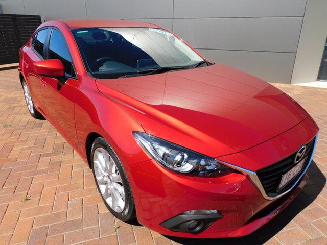 Used Mazda 3 BM5238 SP25 SKYACTIV-Drive Toowoomba, 2014 Mazda 3 BM5238 SP25 SKYACTIV-Drive Soul Red 6 Speed Sports Automatic Sedan