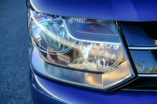 2011 Volkswagen Multivan T5 MY12 TDI400 DSG Comfortline Blue 7 Speed Sports Automatic Dual Clutch