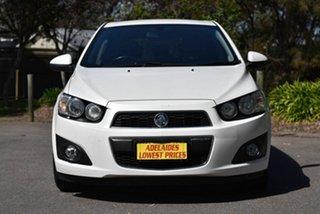 2012 Holden Barina TM MY13 CDX White 6 Speed Automatic Hatchback.