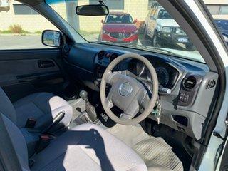 2011 Isuzu D-MAX TF MY10 SX (4x2) White 5 Speed Manual Cab Chassis
