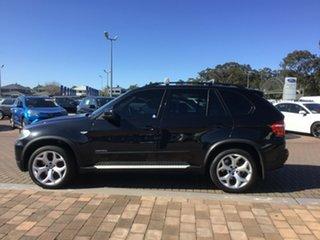 2009 BMW X5 E70 MY09 xDrive30d Steptronic Black 6 Speed Sports Automatic SUV