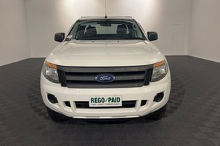 2014 Ford Ranger PX XL Hi-Rider White 6 speed Automatic Cab Chassis.