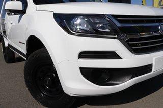 2018 Holden Colorado RG MY19 LS Pickup Crew Cab Summit White 6 Speed Manual Utility.