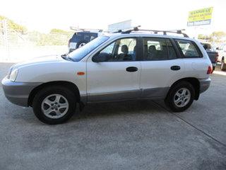 2003 Hyundai Santa Fe SM GLS White 4 Speed Manual Sedan.
