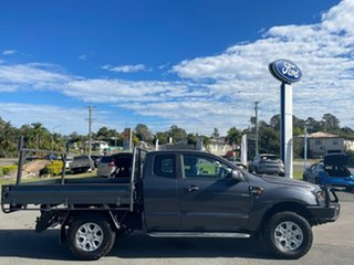 2018 Ford Ranger PX MkII 2018.00MY XL Grey 6 Speed Sports Automatic Cab Chassis.