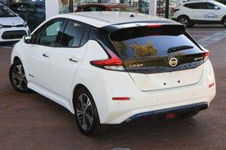 2019 Nissan Leaf ZE1 White 1 Speed Reduction Gear Hatchback.