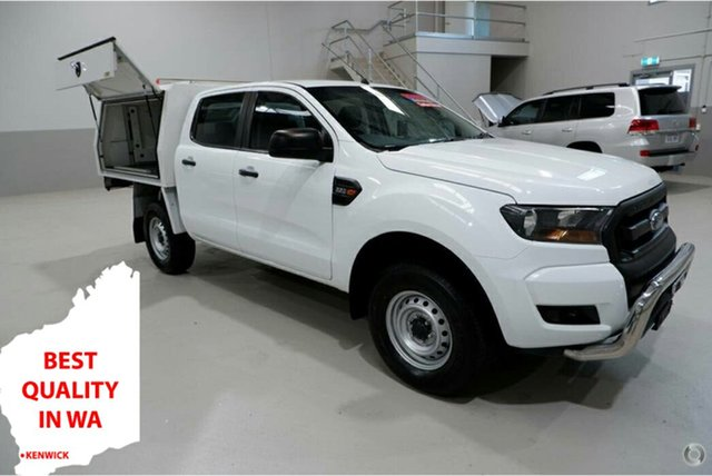Used Ford Ranger PX MkII XL Hi-Rider Kenwick, 2017 Ford Ranger PX MkII XL Hi-Rider White 6 Speed Sports Automatic Cab Chassis