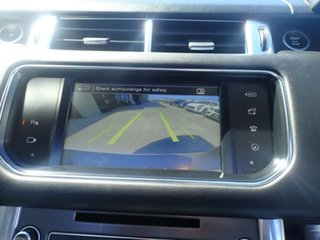 2016 Land Rover Range Rover LW MY16.5 Sport 3.0 TDV6 SE Santorini Black 8 Speed Automatic Wagon