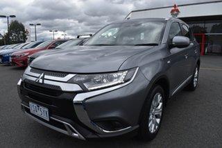 2019 Mitsubishi Outlander ZL MY20 ES 2WD Titanium Grey 6 Speed Constant Variable Wagon.