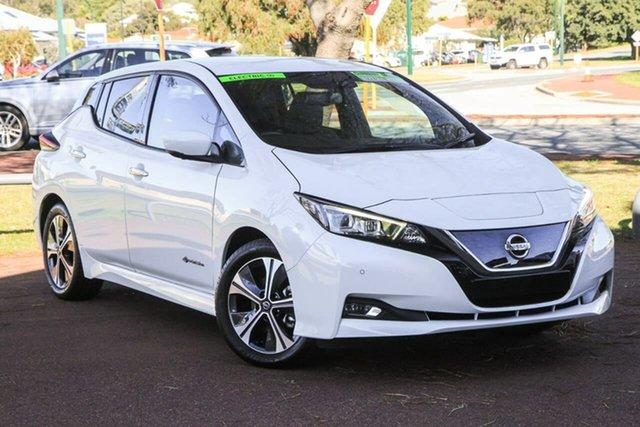 Used Nissan Leaf ZE1 Attadale, 2019 Nissan Leaf ZE1 White 1 Speed Reduction Gear Hatchback