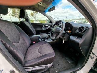 2012 Toyota RAV4 ACA38R MY12 CV 4x2 White 4 Speed Automatic Wagon