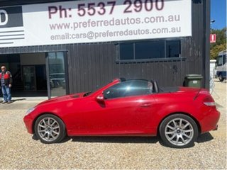 2005 Mercedes-Benz SLK350 R171 Red 7 Speed Automatic G-Tronic Convertible.