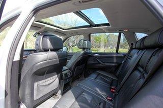 2009 BMW X5 E70 MY09 xDrive30d Steptronic Executive White 6 Speed Sports Automatic Wagon