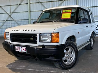 1999 Land Rover Discovery II Td5 White 4 Speed Automatic Wagon.