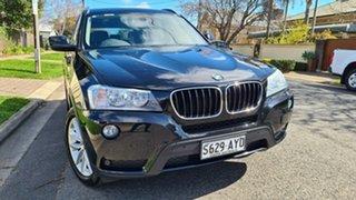 2013 BMW X3 F25 xDrive20d Black 8 Speed Automatic Wagon.
