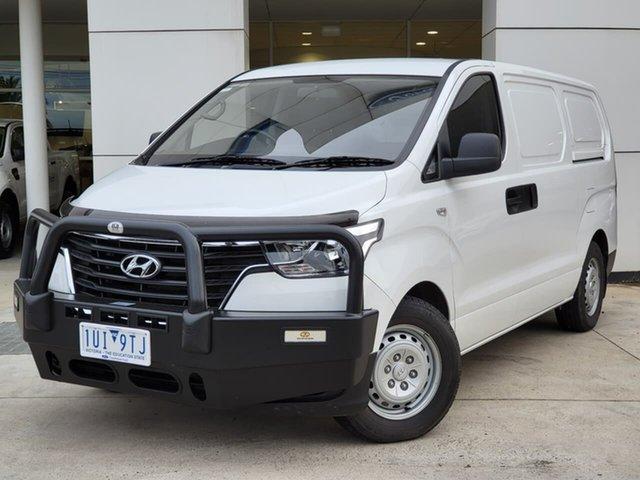 Used Hyundai iLOAD TQ4 MY19 Oakleigh, 2018 Hyundai iLOAD TQ4 MY19 White 5 Speed Automatic Van