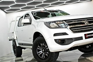 2017 Holden Colorado RG MY18 LS (4x2) White 6 Speed Automatic Crew Cab Chassis.