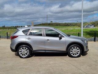 2014 Mazda CX-5 KE1021 MY14 Akera SKYACTIV-Drive AWD Silver 6 Speed Sports Automatic Wagon.
