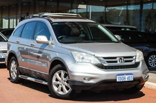 2010 Honda CR-V RE MY2010 Sport 4WD Silver 5 Speed Automatic Wagon.