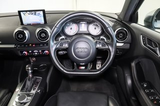 2014 Audi S3 8V MY15 S Tronic Quattro Silver 6 Speed Sports Automatic Dual Clutch Sedan