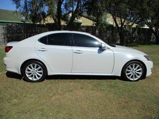 2009 Lexus IS GSE20R MY09 IS250 Prestige White 6 Speed Sports Automatic Sedan.