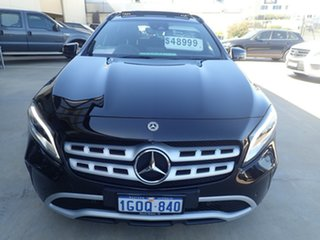 2017 Mercedes-Benz GLA180 X156 MY18 Black Magic 7 Speed Auto Dual Clutch Wagon.
