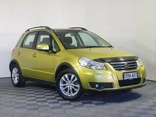 2012 Suzuki SX4 GYA MY13 Crossover AWD Yellow 6 Speed Constant Variable Hatchback.