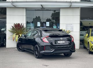 2018 Honda Civic 10th Gen MY18 VTi-L Black 1 Speed Constant Variable Hatchback