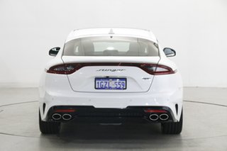 2019 Kia Stinger CK MY20 GT Fastback Carbon Edition White 8 Speed Sports Automatic Sedan
