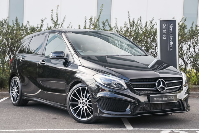 Certified Pre-Owned Mercedes-Benz B-Class W246 808+058MY B200 DCT Berwick, 2017 Mercedes-Benz B-Class W246 808+058MY B200 DCT Cosmos Black 7 Speed Sports Automatic Dual Clutch