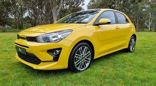 2021 Kia Rio YB MY22 SX Mighty Yellow 6 Speed Automatic Hatchback