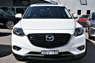 2015 Mazda CX-9 TB10A5 Luxury Activematic White 6 Speed Sports Automatic Wagon.
