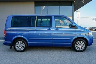 2011 Volkswagen Multivan T5 MY12 TDI400 DSG Comfortline Blue 7 Speed Sports Automatic Dual Clutch.