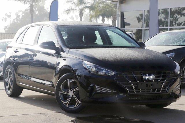 New Hyundai i30 PD.V4 MY21 Oakleigh, 2021 Hyundai i30 PD.V4 MY21 Black 6 Speed Sports Automatic Hatchback