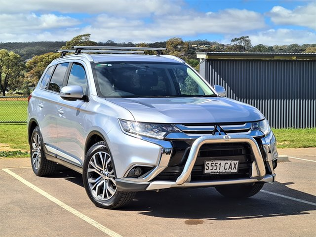 Used Mitsubishi Outlander ZK MY16 LS 2WD St Marys, 2016 Mitsubishi Outlander ZK MY16 LS 2WD Silver 6 Speed Constant Variable Wagon
