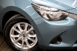 2016 Mazda 2 DJ2HAA Maxx SKYACTIV-Drive Blue 6 Speed Sports Automatic Hatchback.