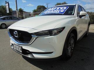 2017 Mazda CX-5 KF4WLA Touring SKYACTIV-Drive i-ACTIV AWD White 6 Speed Sports Automatic Wagon.
