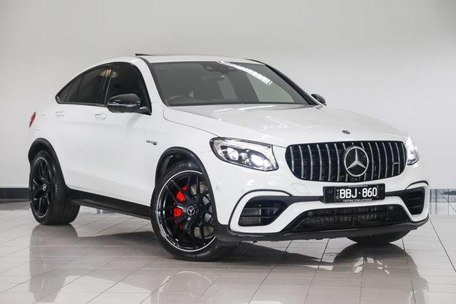 Used Mercedes-Benz GLC-Class C253 809MY GLC63 AMG Coupe SPEEDSHIFT MCT 4MATIC+ S , 2019 Mercedes-Benz GLC-Class C253 809MY GLC63 AMG Coupe SPEEDSHIFT MCT 4MATIC+ S Polar White 9 Speed